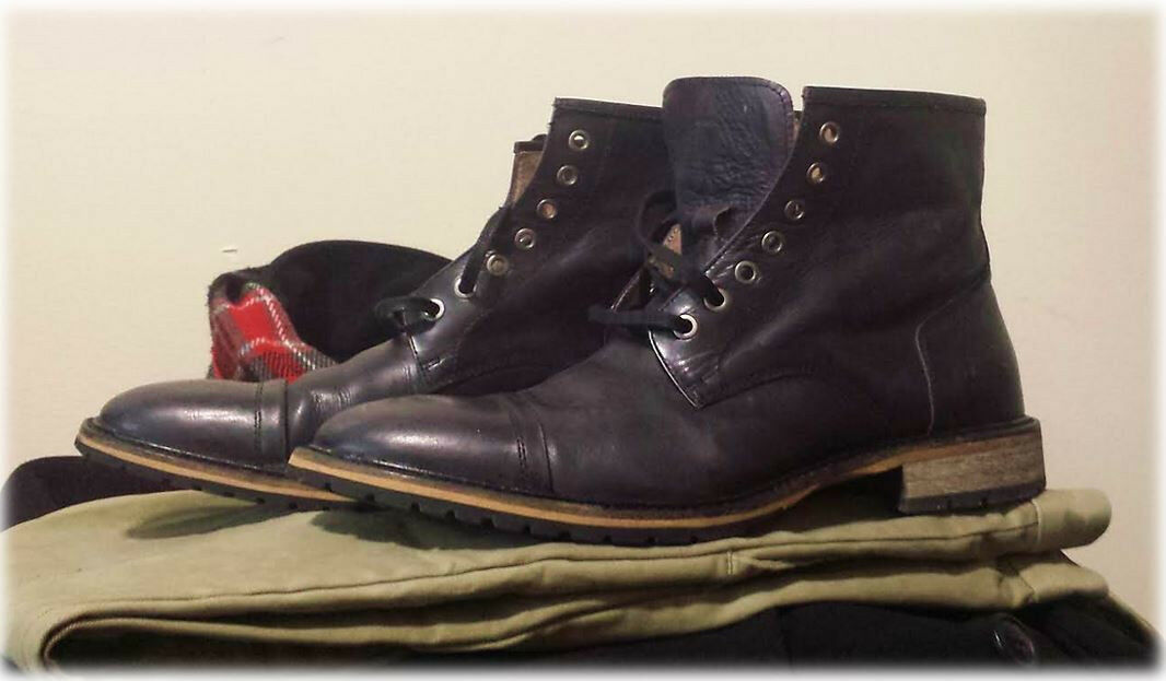 Andrew Marc  Norwood  boots — 10.5