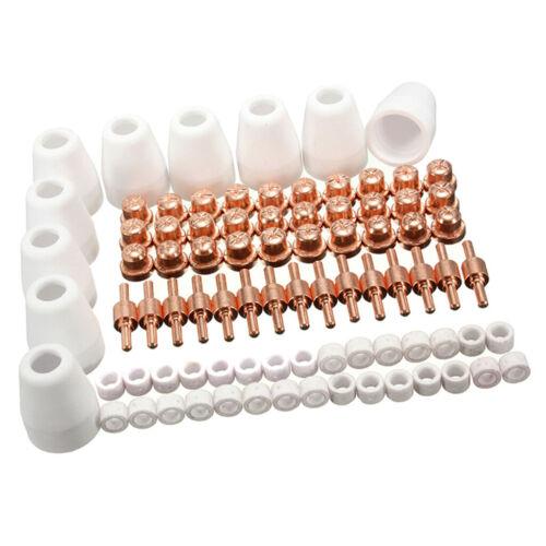 85pcs Luft-Plasmaschneider Schneiden Verbrauchsmaterialien Verschleißteile