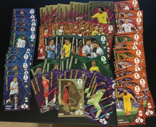 Panini Adrenalyn XL FIFA World Cup 2018 Insertos /& Edición Limitada Premium Pick