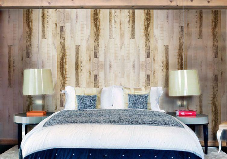 3D Elegant Natural Wood Wall Paper Wall Print Wall Decal Wall Deco Indoor Murals