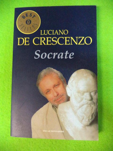 Book libro SOCRATE Luciano De Crescenzo 2001 OSCAR MONDADORI best sellers (L25)