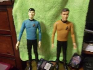 1991-Star-Trek-Capt-Kirk-and-Mr-Spock-Figures