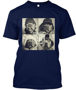 Supersoft-Straight-Outta-Rescue-Pitbull-Hanes-Hanes-Tagless-Tee-T-Shirt