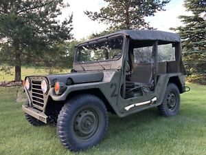 M151A2 military army jeep