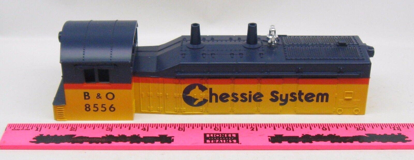 Lionel shell  8556 B&O Chessie System Diesel Shell
