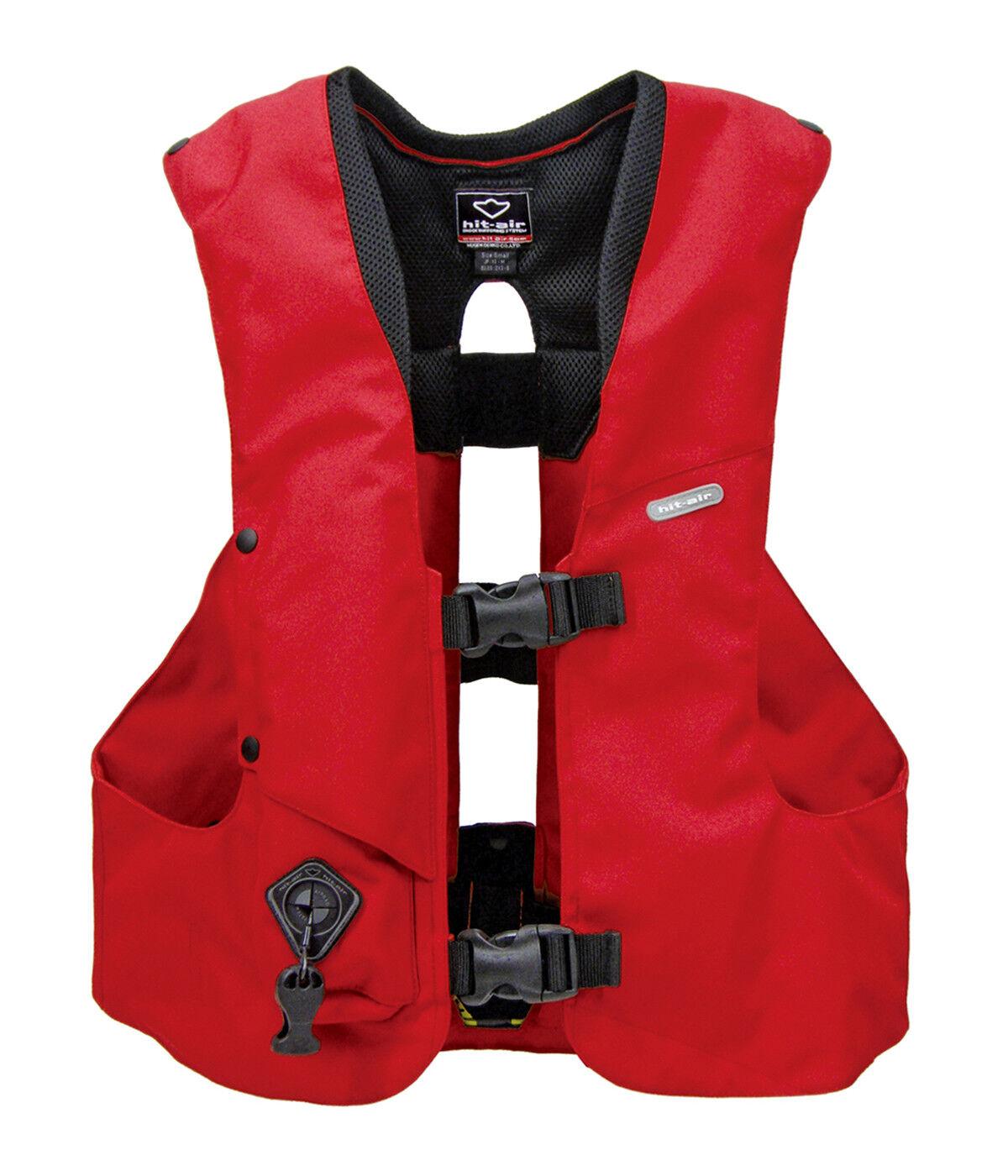 Hit Air Equestrian Vest - Medium - Red