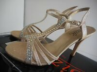 Sizzle By Coloriffics Avril Womens Size 6.5 Nude Dress Sandals