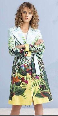 IVKO Stickkleid Baumwolle mit Elasthan Bestickt Größe 38-44 191544