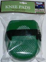 Garden Knee Pads Green 5.9 X 5.1 Soft Cushion Comfort
