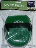 Garden Knee Pads Green 5.9 X 5.1 Soft Cushion Comfort
