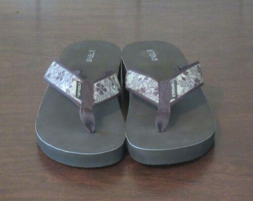 Teva Madalyn floral print wedge sandals women's si