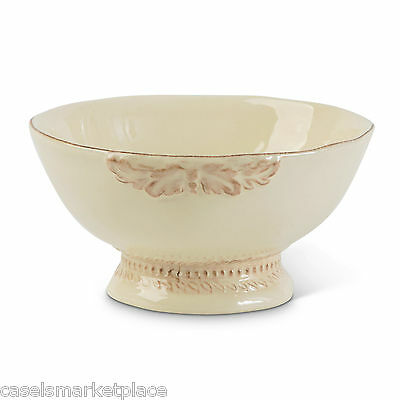 The GG Collection Grazia Set of 4 Ceramic Soup & Cereal Bowls