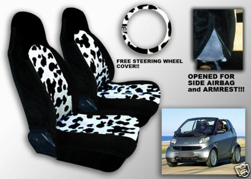 Smart Deluxe Moo Cow Custom Made Fit Car Seat Covers