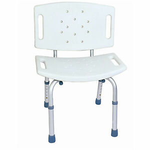 CA350-CareMax-Aluminium-Adjustable-Bath-Shower-Seat-Chair-with-Back-Rest