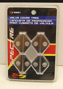 Valve Cover Hold Down Tabs Chrome Plated Universal Qty.8 5324