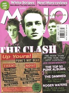 MOJO MUSIC MAGAZINE #112 MARCH 2003 THE CLASH ROGER WATERS FREE PUNK GREEN CD
