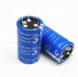 Details about Super Capacitor 2 85V400F GDCPH 500F 2 7V400F DIY Car  Capacitor 4 Feet