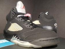 Nike Air Jordan 5 Retro OG Mens Size 7.5 Black Metallic 2016 VNDS