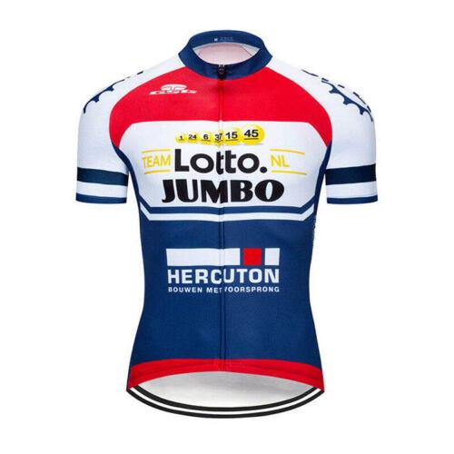 Men Cycling Jersey Set MTB Bike Short Sleeve Shirt bib shorts Kit Racing Uniform