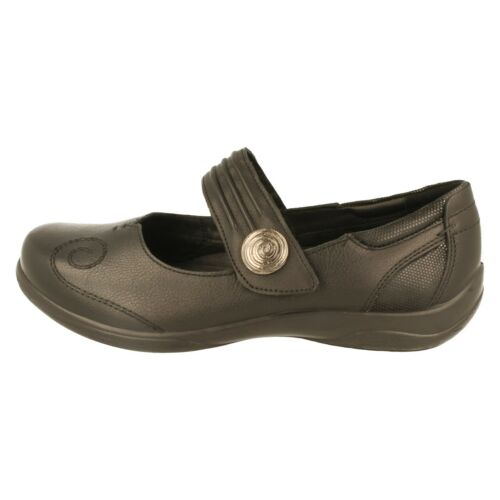 Poem Ladies Padders Flat Leather Shoes