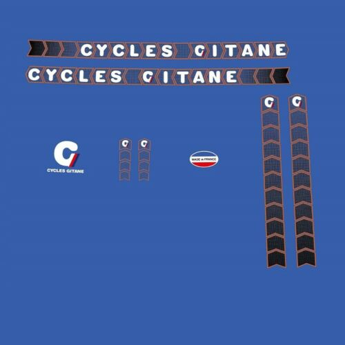 Gitane 1980s Bicycle Decals, Transfers, Stickers n.800