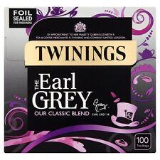 L'Earl Grey Twinings 100 bustine di tè 250g-venduta in tutto il mondo dal Regno Unito
