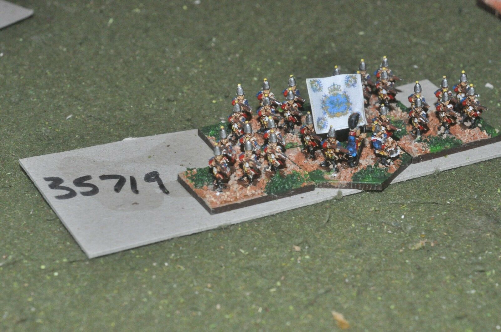 10mm 7YW   prussian - regiment 30 figures - inf (35719)