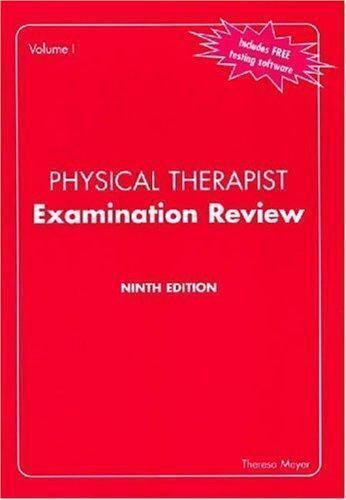 Physical Therapist Examination Review, 2 Volume Set [Expanded]