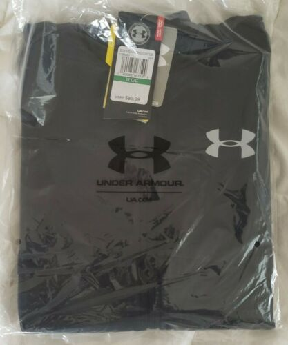 Brand New Spring Jacket//Swacket Youth Large Black NWT Under Armour