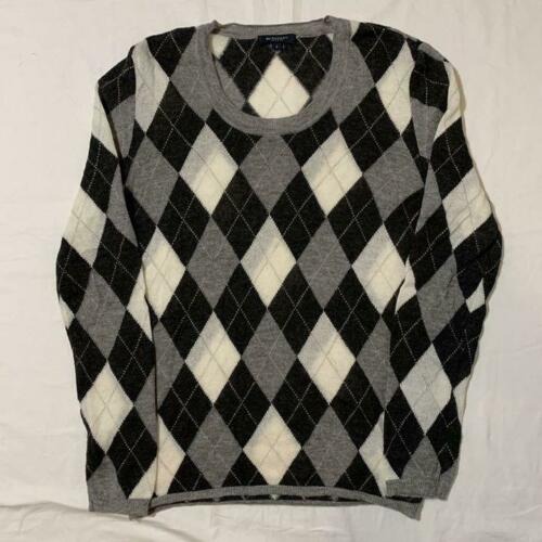 Burberry London Argyle Knit