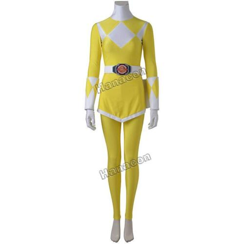 Zyuranger Boy Tiger Ranger Cosplay Costume Jumpsuit Yellow Suit Halloween Outfit