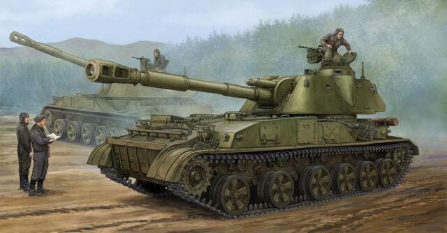 Trumpeter 05543 - 1:3 5 Soviet 2S3 152mm Self-Prop.howitzer Earl - Nuovo