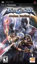 Soul Calibur: Broken Destiny PSP New Sony PSP