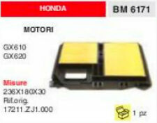 17211.ZJ1.000 FILTRO ARIA COMPLETO MOTORE HONDA GX610 GX620 GX 610 620 236x180