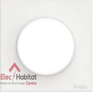Lot-de-5-plaques-simple-Schneider-Odace-styl-blanc-S520702
