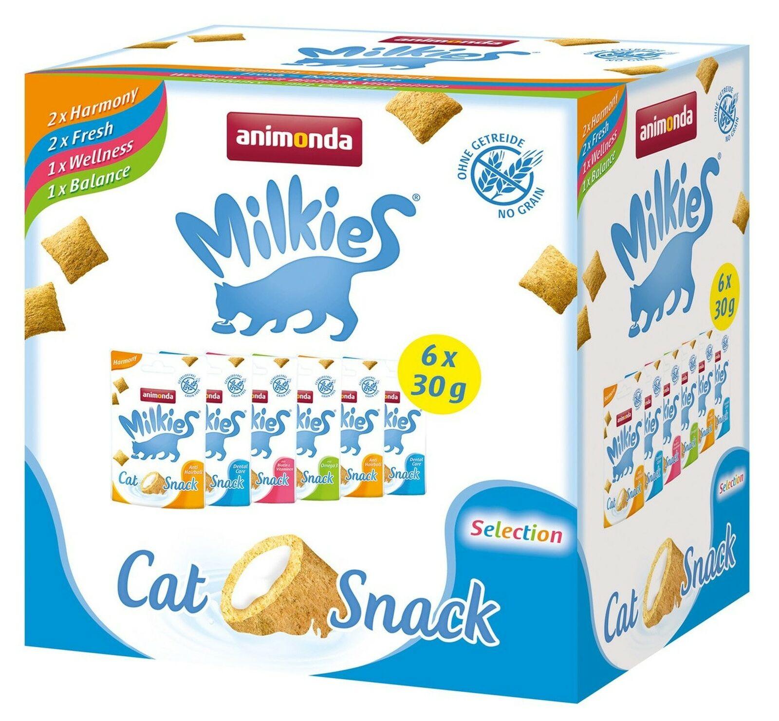 ANIMONDA milkies pacco misto Selezione Confezione da 4 x 180g