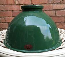 Reclaimed Vintage Original Thorlux Green Industrial Factory Lamp Light Shades