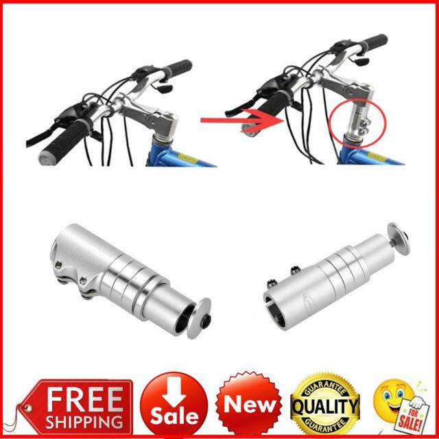 Bike Fork Stem Extender MTB Bike Handlebar Riser Head Up Adapter Aluminium L1C4