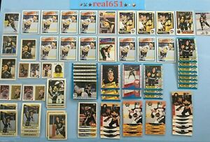 1985-O-Pee-Chee-MARIO-LEMIEUX-Rookie-Lot-x-144-Topps-OPC-RC-Penguins-HOF-Batch