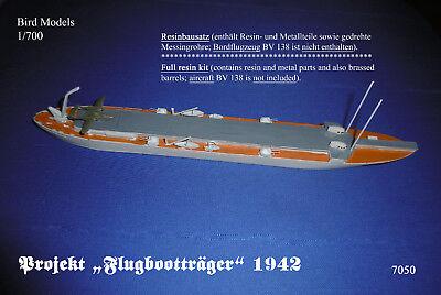 Dr kit Dräger Kleinflugzeugträger 1942    1//700 Bird Models Resin Bausatz