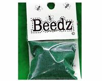 Microbeads B-11 Beeds Glass Green For Craft Projects