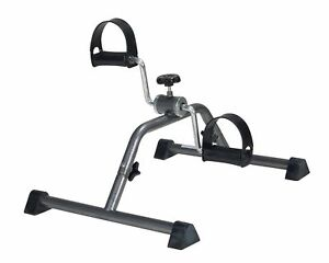 Portable Exercise Bike Pedal Cycle Office Workout Foot Fitness Under Desk Cardio