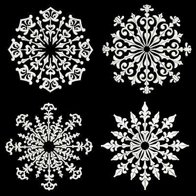 SNOWFLAKES 2 - 30 MACHINE EMBROIDERY DESIGNS (AZEB)