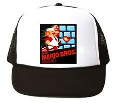 698e0257880 item 2 Vintage Super Mario Bros. Trucker Hat mesh hat video game hat black  Nintendo new -Vintage Super Mario Bros. Trucker Hat mesh hat video game hat  black ...