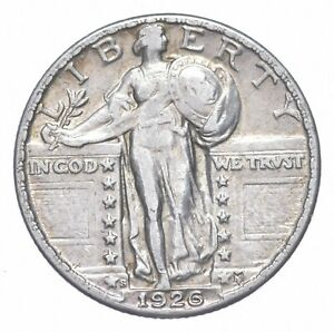 Razor-Sharp-1926-S-Standing-Liberty-Quarter-Stunning-Details-722