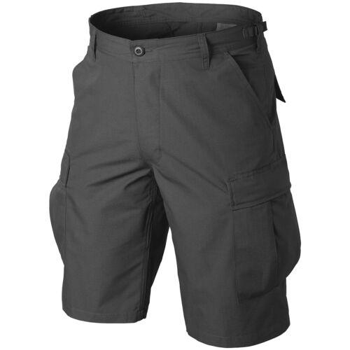 Helikon Military Style Genuine BDU Army Combat Mens Cargo Shorts Work Wear Black