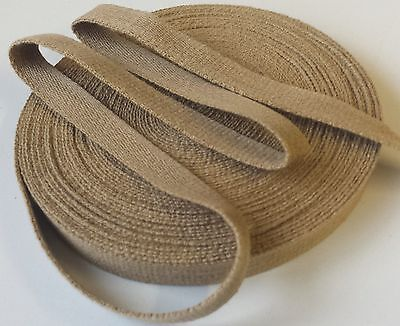Aprons Bunting Decoration Strapping. Craft 15mm PLAIN COTTON TAPE Webbing