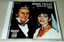 MARIA CALLAS-OPERA DE PARIS 1958-CD 1987-NO BARCODE-LEGION OF HONOR BENEFIT