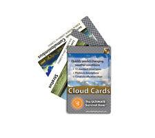 Ust Cloud Cards Pocket Weather Guide for Survival Kit Bushcraft Backpack Camping