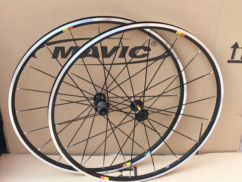 New Mavic Aksium 2016 Road Bike Bicycle 700c F&R Front & Rear Wheels Wheelset